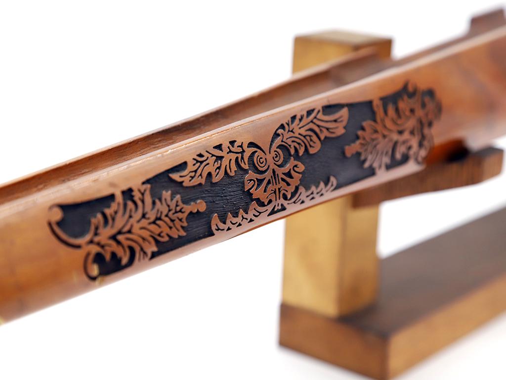 銃身(装飾品) 彫刻